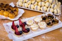 pastelería, tartaletas